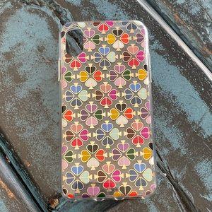 Kate Spade foil spade iphone xs/x case